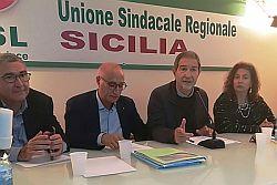 CGIL, CISL e UIL inviano al neo Presidente Musumeci le loro richieste di confronto