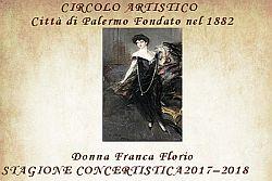 Inaugurazione stagione concertistica 2017-2018 Circolo Artistico Palermo
