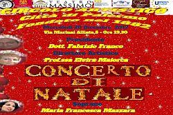 Concerto di Natale al Circolo Artistico di Palermo