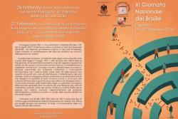 XI Giornata Nazionale del Braille: anche l'Unione Italiana Ciechi di Palermo la celebra con un doppio appuntamento 26 e 27 febbraio