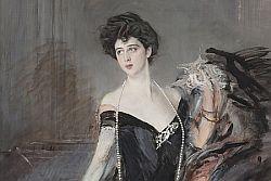 Il capolavoro della Belle époque ritratto di Donna Franca Florio torna a Palermo