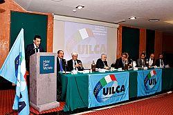 """Ha avuto luogo a Caltanissetta il Convegno organizzato dalla UilCA dal titolo """"Gli effetti delle Normativa anti-riciclaggio e delle pressioni commerciali sui dipendenti bancari"""" alla presenza del segretario generale della Uilca Massimo Masi. L'evento ha approfondito i temi delle """"pressioni commerciali"""" che, come ha dichiarato Rosario Mingoia, dirigente Nazionale della Uilca, """"nonostante gli accordi di"""