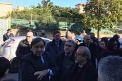 Cerimonia intitolazione  via della Giraffa di Palermo a Mico Geraci,  sindacalista UIL ucciso dalla mafia
