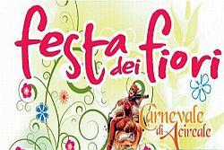 Ad Acireale Festa dei fiori con le sfilate dei carri allegorici infiorati