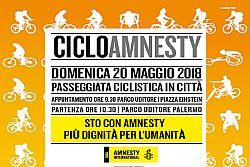 A Palermo CicloAmnesty e Open for Amnesty, due domeniche all'insegna dei Diritti Umani