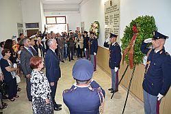 Questura Palermo ricorda vittime strage di via d'Amelio