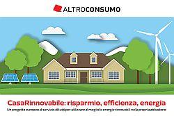 Altroconsumo Sicilia affronterà tema CasaRinnovabile: risparmio, efficienza, energia