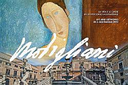 """A Palermo i capolavori di ModIgliani e le opere dei suoi amici assieme a """"MODIGLIANI MULTIMEDIA EXPERIENCE, les femmes"""""""