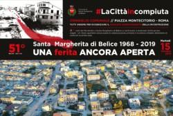 """Manifestazione a Roma """"Una ferita ancora aperta"""". A cinquantuno anni dal terremoto Santa Margherita di Belìce torna a manifestare"""