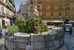 Terminati i lavori di restauro della Fontana del Genio di piazza della Rivoluzione a Palermo