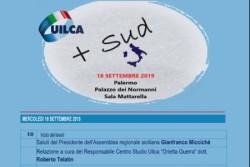 """A Palermo si terrà il Convegno organizzato dalla Uilca """"+ Sud"""""""