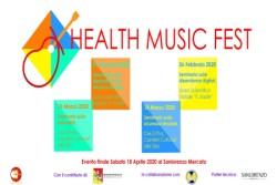 """""""Health Music Fest"""", la musica per parlare ai giovani di dipendenze, sicurezza stradale e sessualità"""
