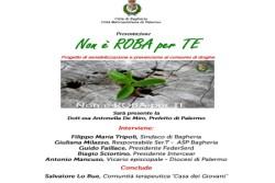 """Bagheria. Il prefetto De Miro alla presentazione del progetto: """"Non è ROBA per TE""""  sabato 8 febbraio 2020 a villa San Cataldo"""