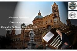 Cattedrale di Palermo, il concerto d'organo di Marianna Vysotskaya