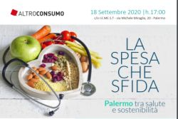 Altroconsumo a Palermo per parlare di alimentazione e consapevolezza al supermercato e a tavola. Esperti del settore medico, sociologico e alimentare si confronteranno sul tema della nutrizione e delle scelte alimentari per tutelare la salute e ridurre lo spreco domestico, anche alla luce dell'aumentata consapevolezza seguita all'emergenza COVID. L'evento è realizzato nell'ambito del progettoLa Spesa