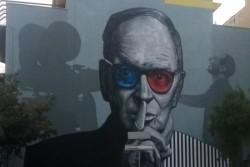 Inaugurazione a Bagheria murale dedicato al maestro Ennio Morricone