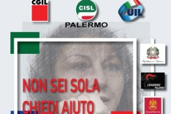"""25 NOVEMBRE, """"La Forza di un NO"""" lo spot di Cgil Cisl Uil Palermo per numeri emergenza contro violenze sulle donne"""