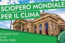 Fridays For Future ritorna in piazza il 19 marzo a Palermo
