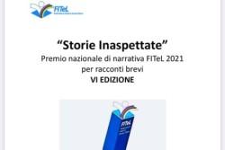 """""""Storie inaspettate"""" COME PARTECIPARE AL PREMIO FITEL 2021 PER AUTORI DI RACCONTI INEDITI"""